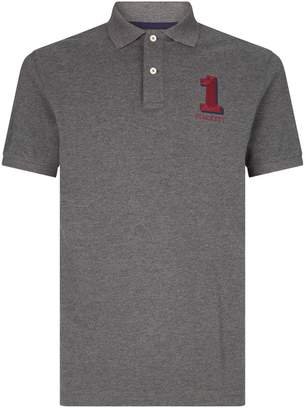 Hackett Digit Embroidery Polo Shirt