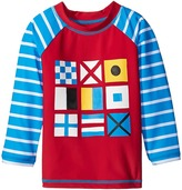 Hatley Nautical Flags Rashguard (Toddler/Little Kids/Big Kids)