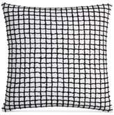 "Hotel Collection Linen Plaid 22"" Square Decorative Pillow"