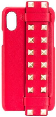 Valentino Rockstud strap iPhone X case