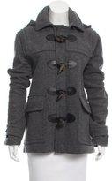 Burberry Wool Hooded Jacket