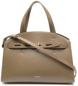 Furla Margharita leather tote bag