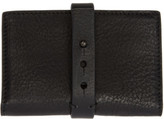 Isabel Benenato Black Small Leather Wallet