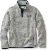 L.L. Bean Kids Beans Sweater Fleece, Pullover