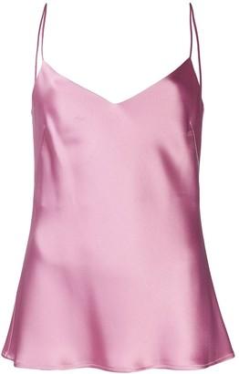 Galvan V-neck slip camisole