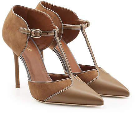Malone Souliers Sadie Pumps with Leather and Suede