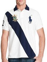 Polo Ralph Lauren Classic-Fit Big Pony Banner-Stripe Short-Sleeve Polo Shirt