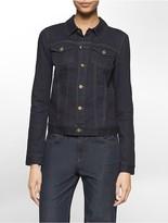 Calvin Klein Dark Wash Denim Trucker Jacket