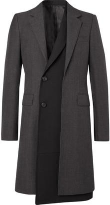Alexander McQueen Slim-Fit Layered Gabardine Coat