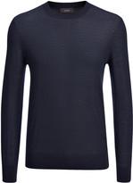 Light Merinos Sweater In Navy