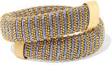 Carolina Bucci Caro Gold-plated And Metallic Cotton Bracelet