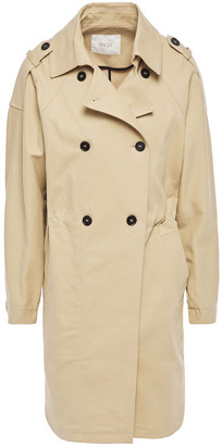 Maje Stretch-cotton Trench Coat