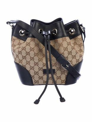Gucci GG Classic Bucket Bag Brown