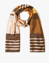 A Peace Treaty Dra Copper Narrow Scarf