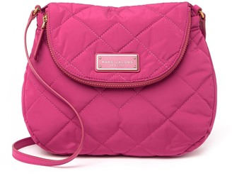 Marc Jacobs Quilted Nylon Messenger Bag