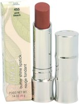 Clinique Butter Shine Lipstick, No. 455 Pink Beach, 0.14 Ounce, W-C-4850