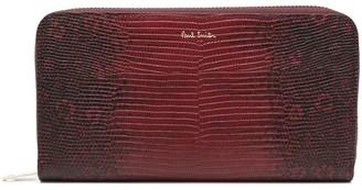 Paul Smith Reptile Texture Wallet