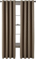 Studio StudioTM Luna Grommet-Top Lined Textured Blackout Curtain Panel