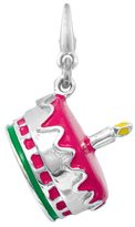 AME Jewelers Sterling Silver ENAMEL CAKE Charm