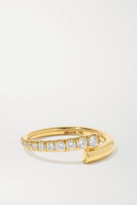Melissa Kaye Lola 18-karat Gold Diamond Ring