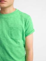 Gap Short sleeve pocket slub tee