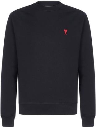 Ami de Cur Logo Embroidered Sweatshirt
