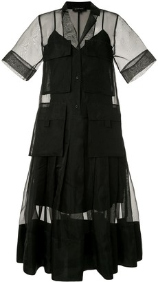 Lee Mathews Callie midi dress