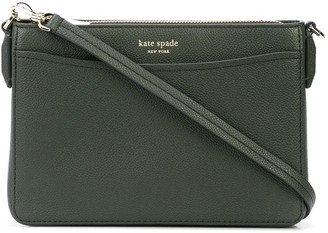 Kate Spade Logo Plaque Crossbody Bag