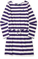 Ralph Lauren Striped Cotton Jersey Dress