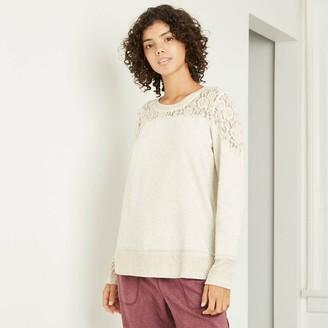 Knox Rose™ Women's Long Sleeve Blouse - Knox RoseTM Cream