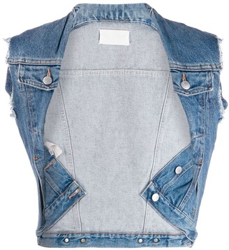 Maison Martin Margiela Pre Owned Denim Vest