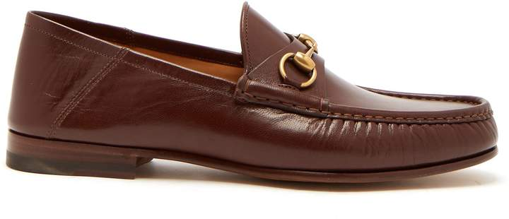 Gucci Easy Roos collapsible-heel leather loafers