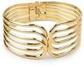 Women's Overlapping Hinge Bracelet - Gold