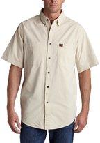 Wrangler RIGGS WORKWEAR Men's Big & Tall Chambray Work Shirt