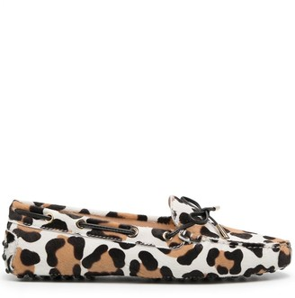 Tod's Leopard-Print Loafers