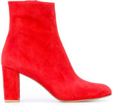 Maryam Nassir Zadeh ankle height zipped boots - women - Leather/Suede - 38
