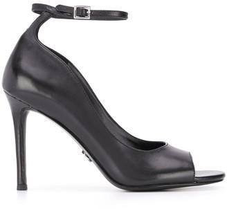 MICHAEL Michael Kors 100mm heel peep toe sandals