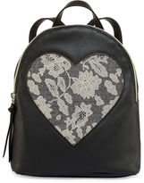 Asstd National Brand Front Lace Heart Backpack