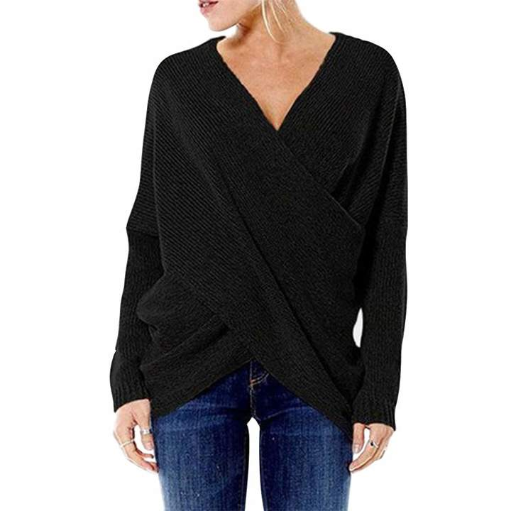 4fbe2c8070b9c2 Black Thick Knit Knitwear For Women - ShopStyle Canada