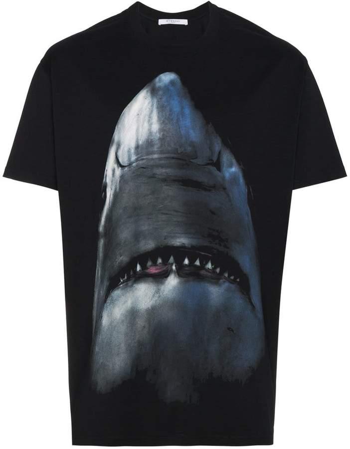 Givenchy oversized shark print t-shirt