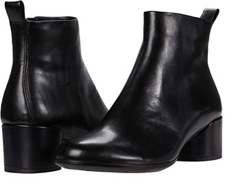 Ecco Shape 35 Mod Block Boot (Black) Women's Boots