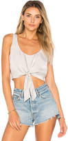 House Of Harlow x REVOLVE Evie Top in Gray. - size L (also in M,XS)