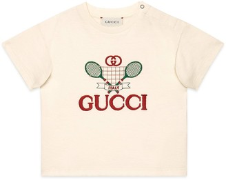 Gucci Baby T-shirt with Tennis