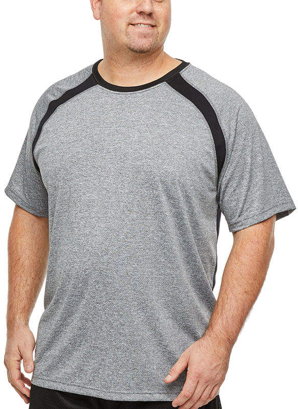 e07922fdb28 THE FOUNDRY SUPPLY CO. The Foundry Big & Tall Supply Co. Mens Crew Neck  Short Sleeve Moisture Wicking T-Shirt-Big and Tall