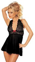 ABC Women's Lingerie, 1 Set Womens Sexy Corset Lingerie With G-string Underwear Sleepwear