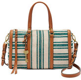 Fossil Kendall Striped Satchel