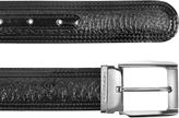 Moreschi Chiasso - Black Peccary and Calf Leather Belt