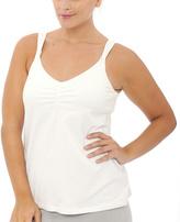 La Leche League International White Nursing Camisole - Plus Too