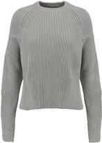 Maison Margiela Cable-knit cotton-blend sweater