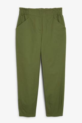 Monki High-waist trousers